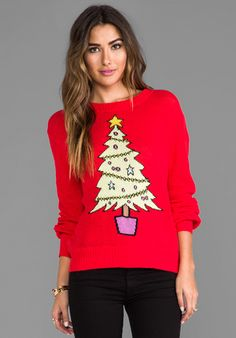 Wildfox Couture Baby Christmas Tree Sweater ($297)
