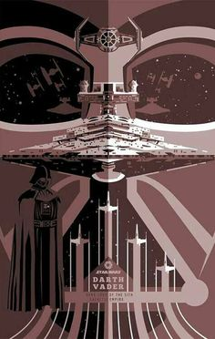 Cool STAR WARS Poster Designs by Ben Smith - Star Wars Stormtroopers - Ideas of Star Wars Stormtroopers - darth vader by ben smith. Darth Vader, Anakin Vader, Stormtrooper, Star Wars Darth, Star Wars Rebels, Star Wars Love, Star Trek, Nave Star Wars, Starwars