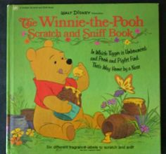 Winnie the Pooh Scratch and Sniff Book by Walt Disney Productions