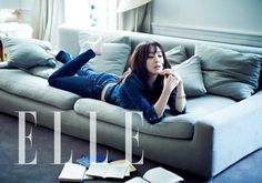 Jung Ryeo-won for Elle Korea March 2013