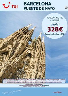 ¡Nuestra selección SMART a Barcelona! Puente de Mayo Vuelo+Hotel+Coche. Precio final desde 328€ ultimo minuto - http://zocotours.com/nuestra-seleccion-smart-a-barcelona-puente-de-mayo-vuelohotelcoche-precio-final-desde-328e-ultimo-minuto-2/