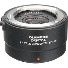 Olympus Zuiko EC-20 2x Teleconverter for Olympus Digital SLR Cameras, The Olympus EC-20 2x Teleconverter doubles the focal length of any lens it is attached to from the wide selection of Four-Thirds and Olympus