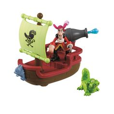 """Fisher-Price Jake and the Neverland Pirates Yo Ho! Let's Glow Skiff Playset - Fisher-Price - Toys """"R"""" Us"""