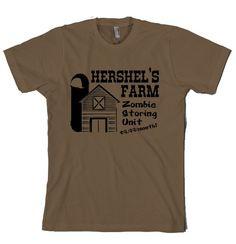 Hershel's Farm Walking Dead t shirt- for the hubs