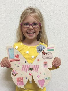Our beautiful #butterflydrop artist Madison! Thank you for another adorable butterfly!