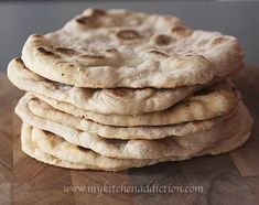 Homemade Naan Flatbread Recipe