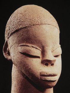 Nok, Nigeria Terracotta Head (500 BC - 200 AD)