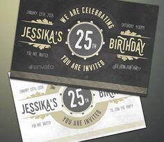 25 best 30 birthday invitation card template ideas images on 25 premium birthday party invitation templates psdindesignword filmwisefo