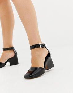 a17a8329227c0f ASOS DESIGN Tanya casual heeled shoes at asos.com