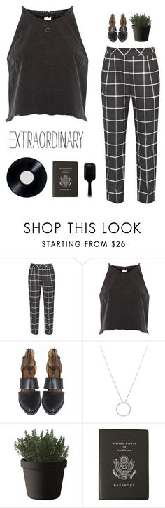 """""""You're extraordinary"""" by genesis129 on Polyvore featuring French Connection, River Island, Roberto Coin, Muuto, Smythson, GHD and vintage"""