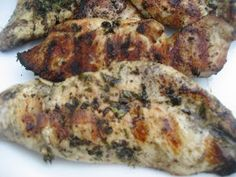 Keeper Worthy Recipes: Almond- Orange Shortbread and Basil Grilled Chicken