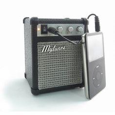 Amplificador de guitarra para el iPod.