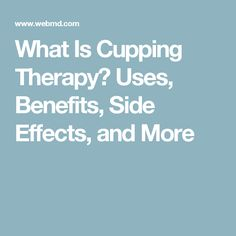 Acupuncture Side Effects What Is Cupping Therapy? Uses, Benefits, Side Effects, and More - WebMD explains the possible benefits and risks of cupping therapy, a form of alternative medicine. Thai Yoga Massage, Massage Tips, Massage Benefits, Good Massage, Spa Massage, Massage Therapy, Acupressure, Acupuncture, What Is Cupping Therapy
