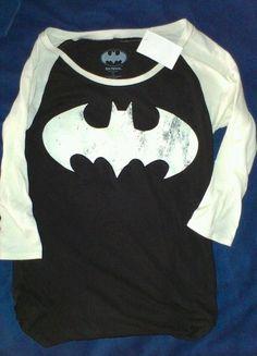 Batman shirt for women!