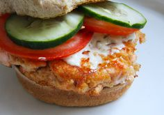 Salmon burgers are healthy, enlightening, and totally delicious. They're a wonderful alternative to the traditional hamburger, and a great stand-alone dish; and with the Magic Bullet, extremely easy to make!