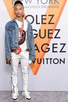 Jaden Smith Gives us a Look at Louis Vuitton's SS18 Sneaker – PAUSE Online | Men's Fashion, Street Style, Fashion News & Streetwear