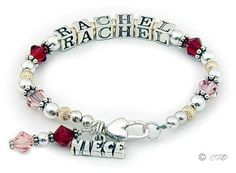 Sterling Silver and Swarovski Crystals ~ Gift for Your Nieces, Granddaughters, etc.  Girls' Birthdays?