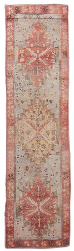 vintage oushak rug 13030 | Woven Online