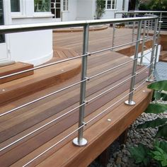 More cost effective safety rail solution without glass - easy clean as well :)