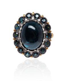 Arman Sarkisyan Blue tourmaline ring