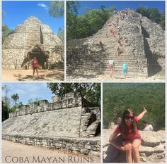  Archaeologists believe that the Cobá Mayan Ruins are one of the most important ruin sites on the Yucatan Peninsula? This landmark is only a 2 hour commute from our Resort! Mayan Ruins, Cancun, Brittany, Louvre, Building, Travel, Viajes, Buildings, Bretagne