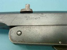 German Single-Shot Breechloading Tip-Up Target Pistol