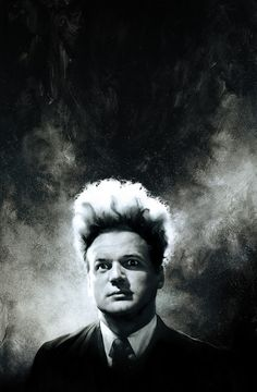 Stunning shot of Jack Nance from David Lynch's one of the best dream/nightmere like film on cinema history 'Eraserhead'
