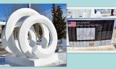 International Snow Sculpture Championship in Breckenridge, CO