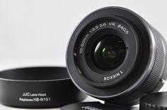 [Exc⁺⁺] Nikon 1 NIKKOR 10-30mm F3.5-5.6 VR Black Lens w/hood For Nikon 1    eBay