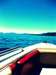 boating:)  I miss living near water