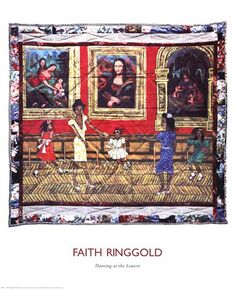 Faith Ringgold - Dancing at the Louvre
