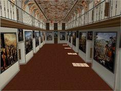 Reconstrucción virtual del Salón de Reinos
