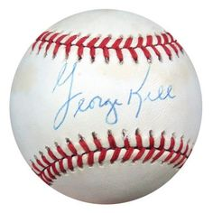 George Kell Autographed AL Baseball PSA/DNA #S52740 . $49.00. This is an Official American League baseball that has been hand signed by George Kell. The autograph has been certified authentic by PSA/DNA and comes with their sticker and matching certificate of authenticity.