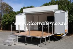 Rico Trailers Mobile Marketing and Events Trailer Rig
