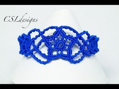 In this tutorial I show you how to make a starburst macrame bracelet. Please feel free to give it a go yourself and I hope you enjoy. This is my original des...