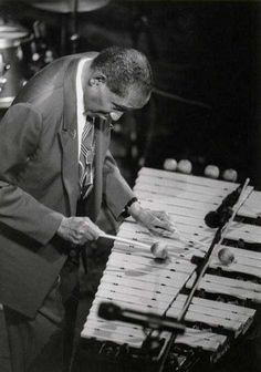 "Milt ""Bags"" Jackson (1923 - 1999) Jazz vibraphonist, original member of the Modern Jazz Quartet"