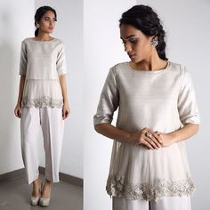 Ridhi Mehra # cocktail look # evening out look # Clubbing Outfits, Chic Outfits, Pakistani Dresses, Indian Dresses, Cocktail Wear, Indian Fashion, Womens Fashion, Fashion Details, Fashion Design