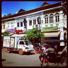 Old Market in Siĕmréab, Siem Reap