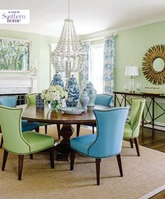Southern Home Mag issue Summer 2016 - Chairs in COM