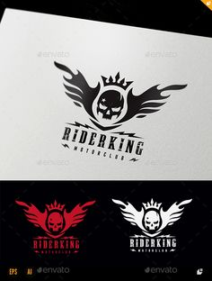 Rider King by LayerSky Logo Template Features100% Scalable Vector Files Everything is editable Everything is resizable Easy to edit color / text Free fon