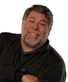 Steve Wozniak, co-founder of Apple and keynote speaker