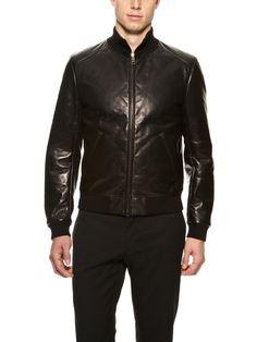Leather Jacket by Prada on Gilt.com