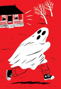 Paul Blow is Seeing Red Only requirement for these illustrations is to use the color red! Intriguing!!