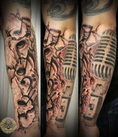 Music Drums Note Micro Tat By 2Face Tattoo On DeviantArt