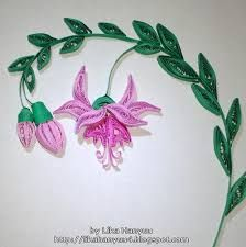 Image result for fuchsia quilling