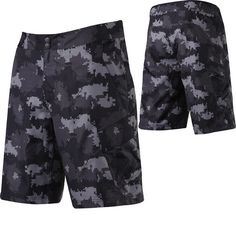 2012 Fox Racing Ranger Mountain Bike Cycling Shorts Black Camo W38