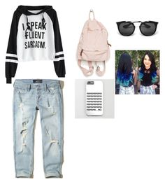 """""""r2"""" by louiza-ap on Polyvore featuring Hollister Co. and Prada"""