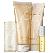 Rare Pearls 4-Piece Bath & Fragrance Collection- A shimmering floral with a pure heart of magnolia and sparkling plum. Regularly $9.99, buy Avon Perfume online at http://eseagren.avonrepresentative.com