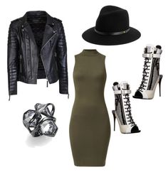 Cookie Lyon by larissaluckey on Polyvore featuring polyvore, fashion, style, Giuseppe Zanotti, Alexis Bittar, rag & bone, women's clothing, women's fashion, women, female, woman, misses and juniors