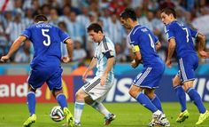 Argentina 2 Bosnia y Herzegovina 1(Copa del Mundo Brasil 2014,Estadio Maracaná,Río de Janeiro,15/06/2014)